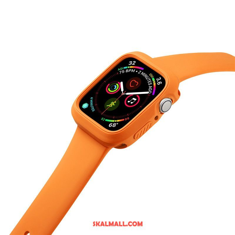 Apple Watch Series 2 Skal Fallskydd Sport Orange Silikon Fodral Rea