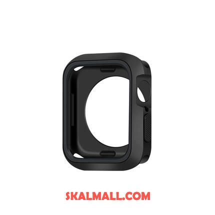 Apple Watch Series 2 Skal Mjuk Bicolor Fallskydd Svart Sport Fodral Billiga