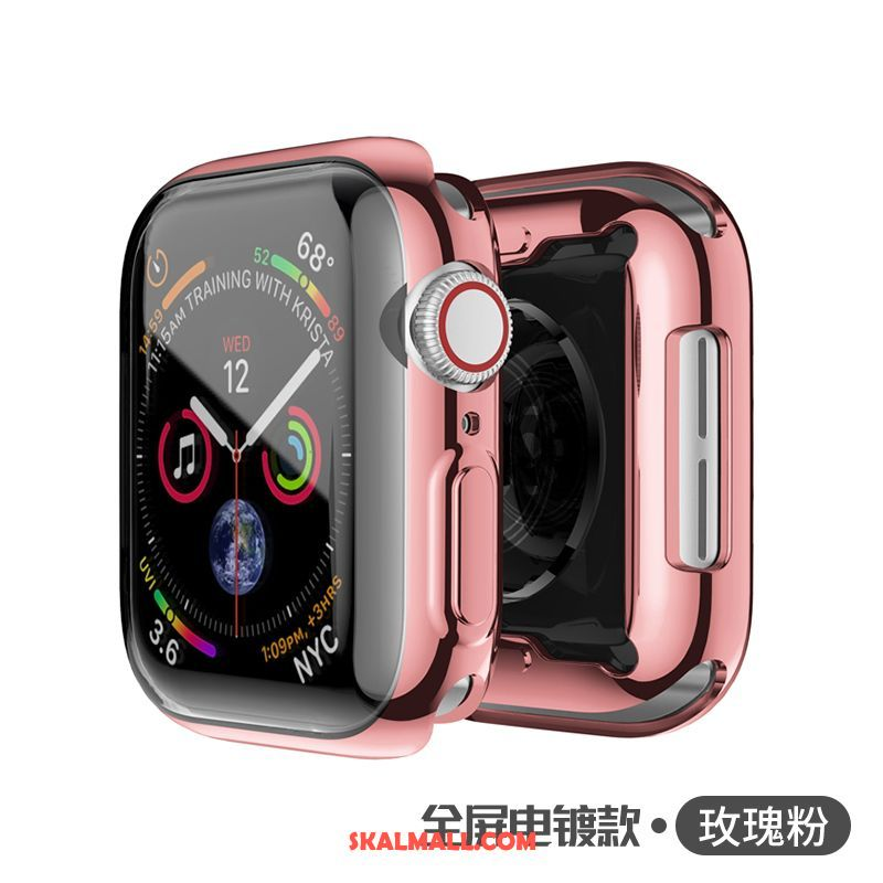 Apple Watch Series 2 Skal Skydd Rosa All Inclusive Plating Metall Fodral Rea