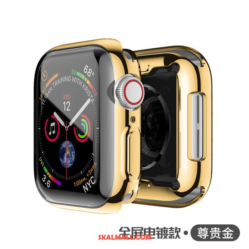 Apple Watch Series 3 Skal Transparent All Inclusive Universell Skydd Guld Fodral Rea