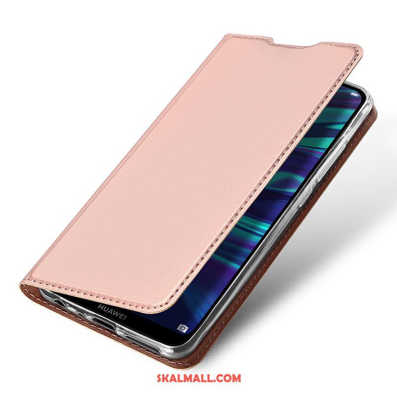 Huawei P Smart 2019 Skal Rosa Väska Fallskydd Ny All