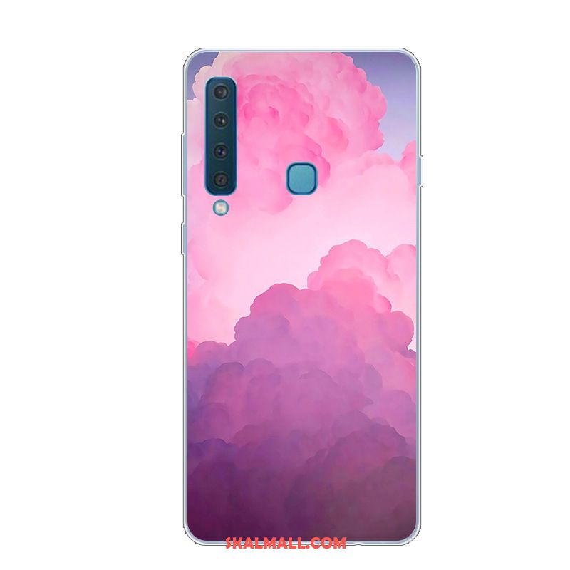 Samsung Galaxy A9 2018 Skal Kreativa All Inclusive Rosa Net Red Silikon Rea