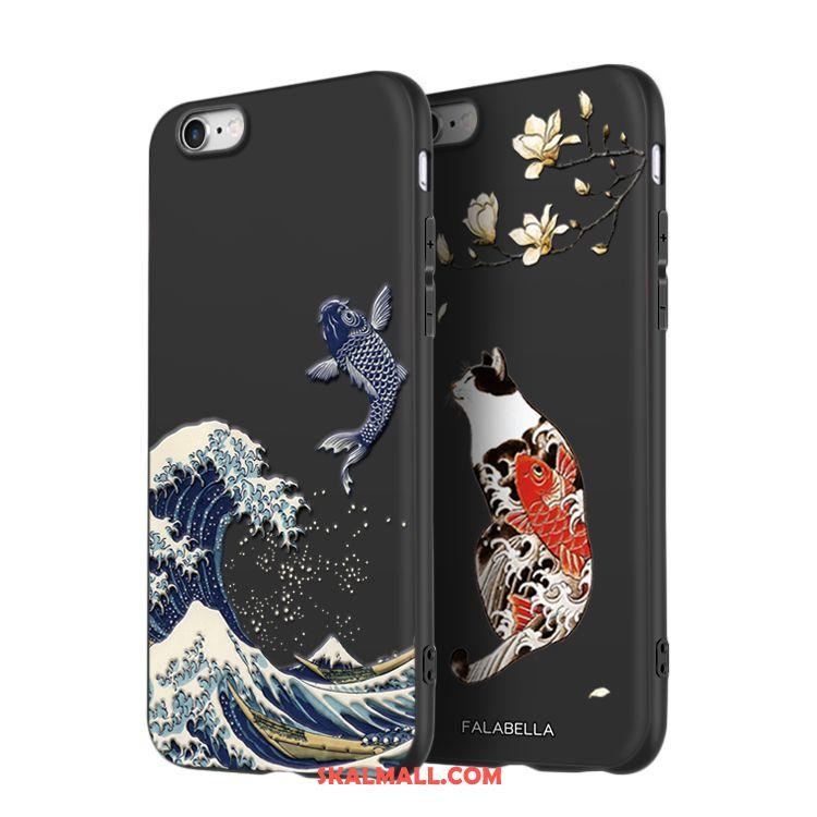 iPhone 6   6s Skal Kreativa Svart Personlighet Ny Silikon Billiga 3e70ab0398657